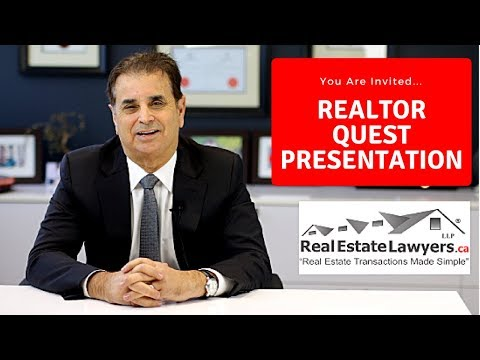 Realtor Quest 2018 -  You're Invited!  Mark Weisleder Presentation