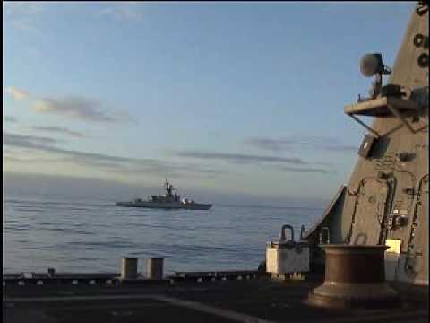 USS Freedom Port Call