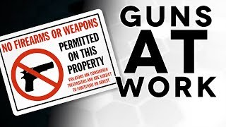 Carrying A Gun... At Work??? - The Legal Brief