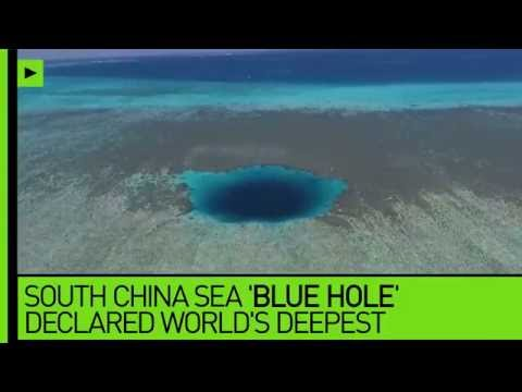 Underwater abyss: Planet's deepest 'blue hole' found in South China Sea