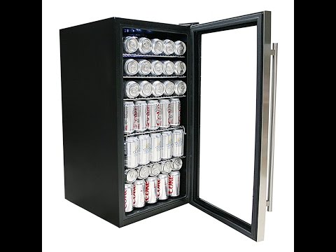 Whynter BR-130SB Beverage Refrigerator with Internal Fan Stainless Steel Review