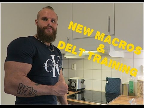 Diet Changes & New Macros | Delt Training