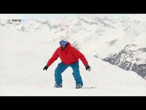 Learning snowboarding - Exercises for Beginners 1