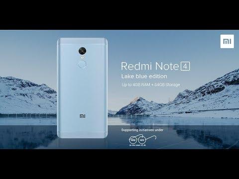 Xiaomi Redmi Note 4 lake blue || flipkart || tech bharti ||