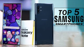 Top 5 Best Samsung Galaxy New Smartphones 2019
