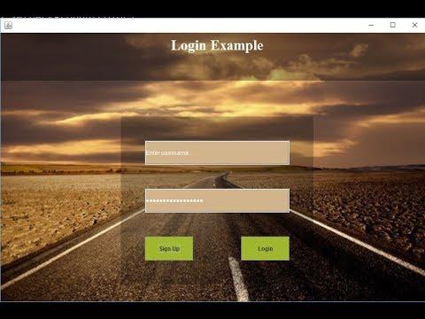 51. Login Form design | Swing | Java | Hindi | Tech-Gram Academy
