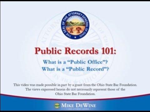 Public Records 101