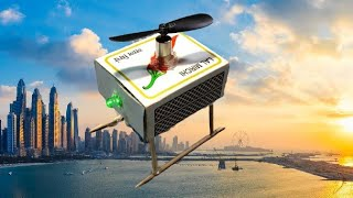 How to make a Electric Helicopter machis box helicopter - very simple