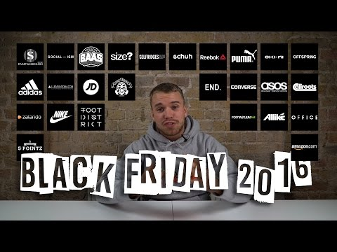 The Top 26 Black Friday 2016 Codes & Offers For Trainers Now