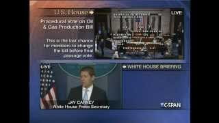 Fast & Furious: Jay Carney Heated Exchange w/ Press Corps over Obama's Executive Privilege