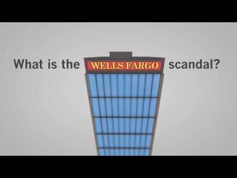 What is the Wells Fargo scandal?