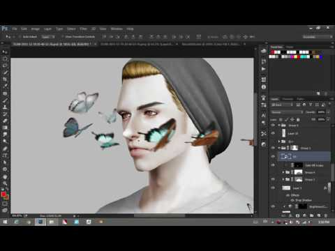 #All About photoshop : ทับ Texture ไม่ชัดก็ให้มันรู้กันไป (Replace Texture)