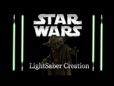 Autodesk Maya - Speed Modeling - Yoda's LightSaber!