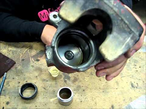 brake caliper rebuild