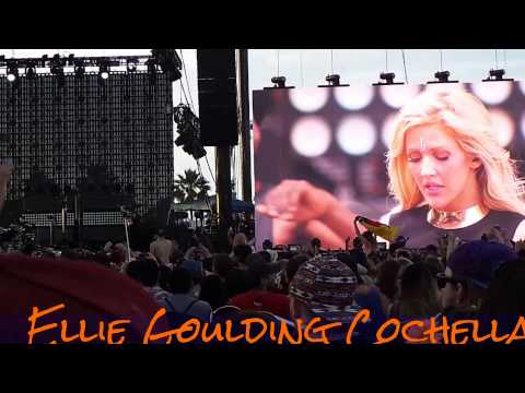 Ellie Goulding Anything Could Happen / Animal at Coachella 2014
