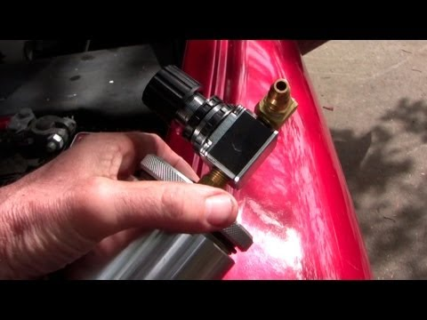 How to clean fuel injectors on the vehicle