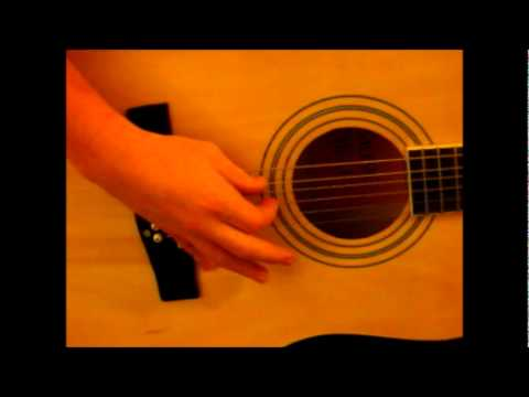 how to place your fingers when playing the guitar