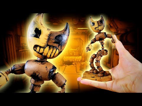 Making BENDY ANIMATRONIC! from Bendy and the Ink Machine Chapter 4!