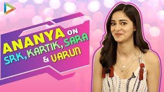 Ananya Panday's Most Entertaining Interview | Epic Rapid Fire On SRK, Kartik, Sara | SOTY 2