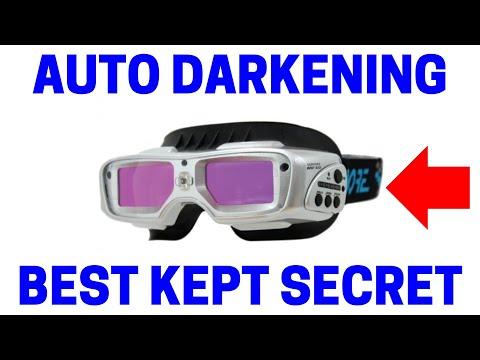 Auto Darkening Welding GOGGLES!
