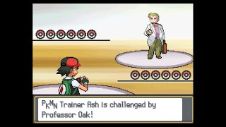 Pokemon Multiverse - Ash vs Professor Oak (Sinnoh League team)