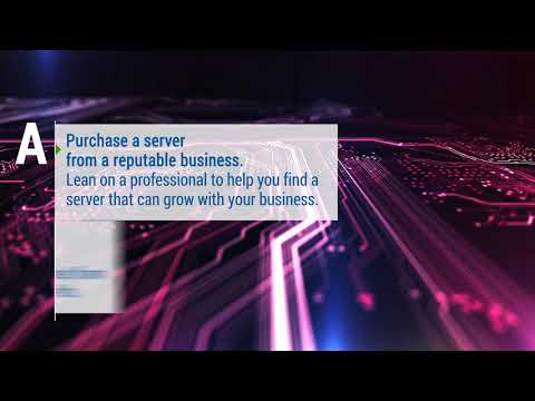 How to Setup a Server for a Small Business?