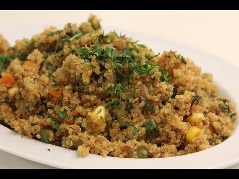 Quinoa and Mixed Vegetable Pulao | Sanjeev Kapoor Khazana
