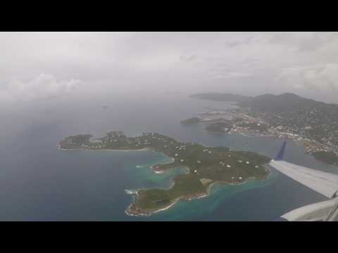 JetBlue Airlines - E 190 - St.Thomas STT to Puerto Rico SJU