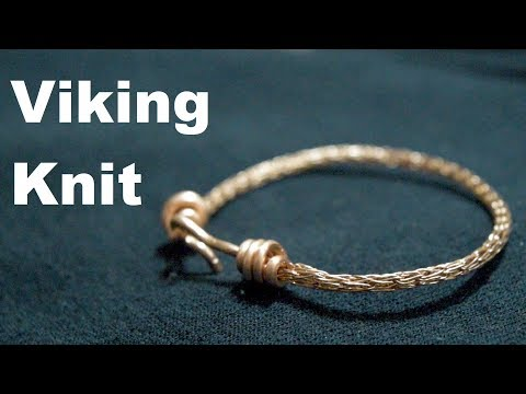Viking Weave Copper Bracelet | Making Jewelry with Scrap Wire