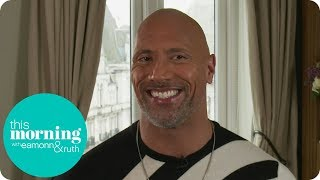 Dwayne Johnson Is Always Happy to Be Called