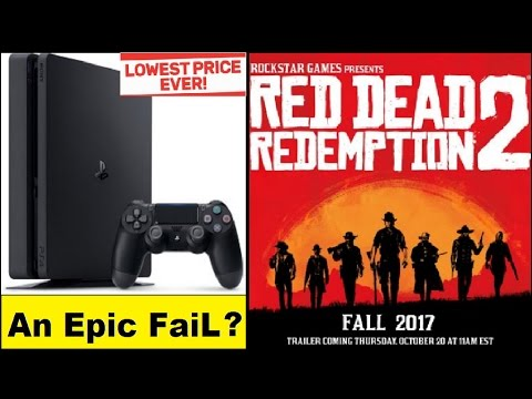 PS4 Slim Is an Epic Disaster? Red Dead Redemption 2 Confirmed, Release Date is Fall 2017