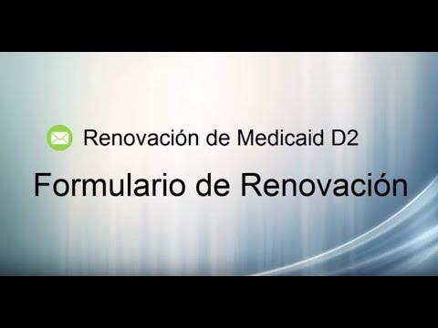 DC Medicaid Renewal D2 Form Spanish