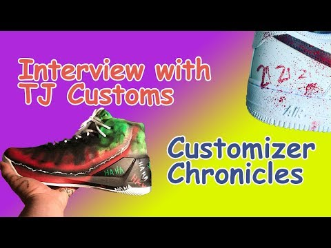 Interview with TJ Customs - Customizer Chronicles - SneakerCon