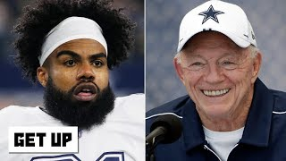 Ezekiel Elliott didn't like Jerry Jones' 'Zeke who?' joke | Get Up