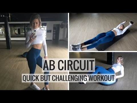 AB WORKOUT | Quick Core Circuit Training