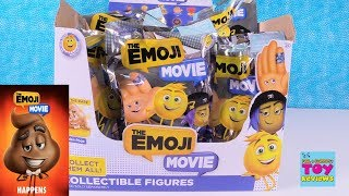 The Emoji Movie Blind Bag Figures Full Box Toy Review Golden | PSToyReviews