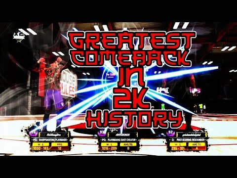 THE GREATEST COMEBACK EVER IN 2K HISTORY AGAINST COMEUPS • BEST JUMPSHOT • STRAIGHT GREENS!! NBA2K18