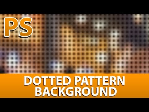 Photoshop Cinematic Dots Pattern Overlay Tutorial