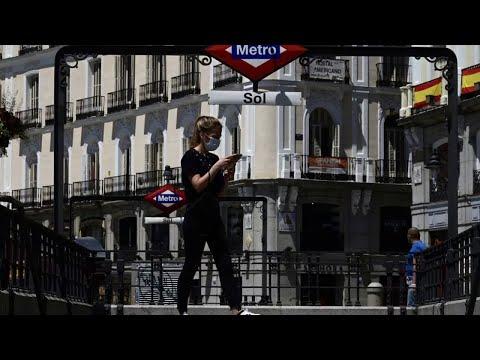 Coronavirus en Espagne: Madrid et Barcelone rouvriront terrasses, hôtels et musées lundi