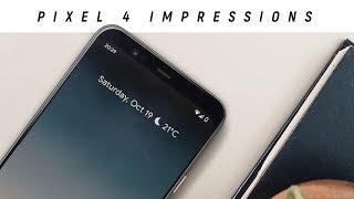 Google Pixel 4 XL - Initial Review!
