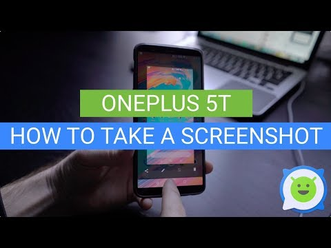 OnePlus 5T: How To Take a Screenshot