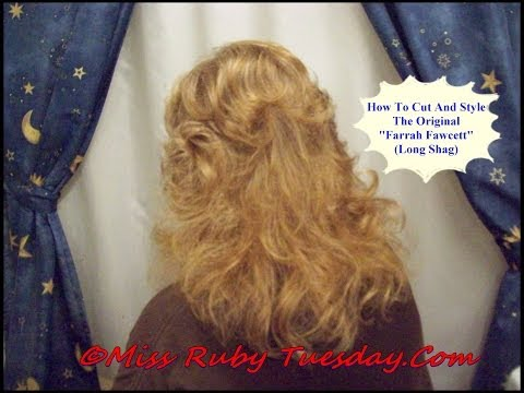 Miss Ruby Tuesday-  The Farrah Fawcett Haircut - #2