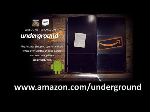 Installing Amazon Underground App on Android Device