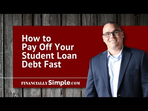How to Pay Off Your Student Loan Debt Fast: Save Money on Finance Interest.