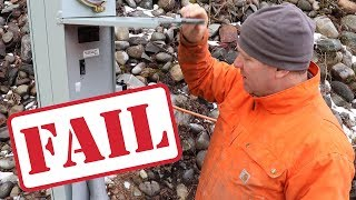 Download We FAILED OUR ELECTRICAL INSPECTION! Now What?! Video