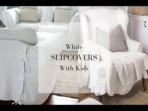 White Slipcovers with Kids | An Honest Review After 5 Years