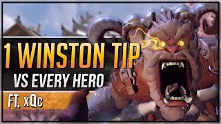 1 WINSTON TIP for EVERY HERO ft. xQc