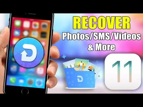 Recover Deleted iPhone Photos, Messages, Videos, Contacts and More - iOS 11