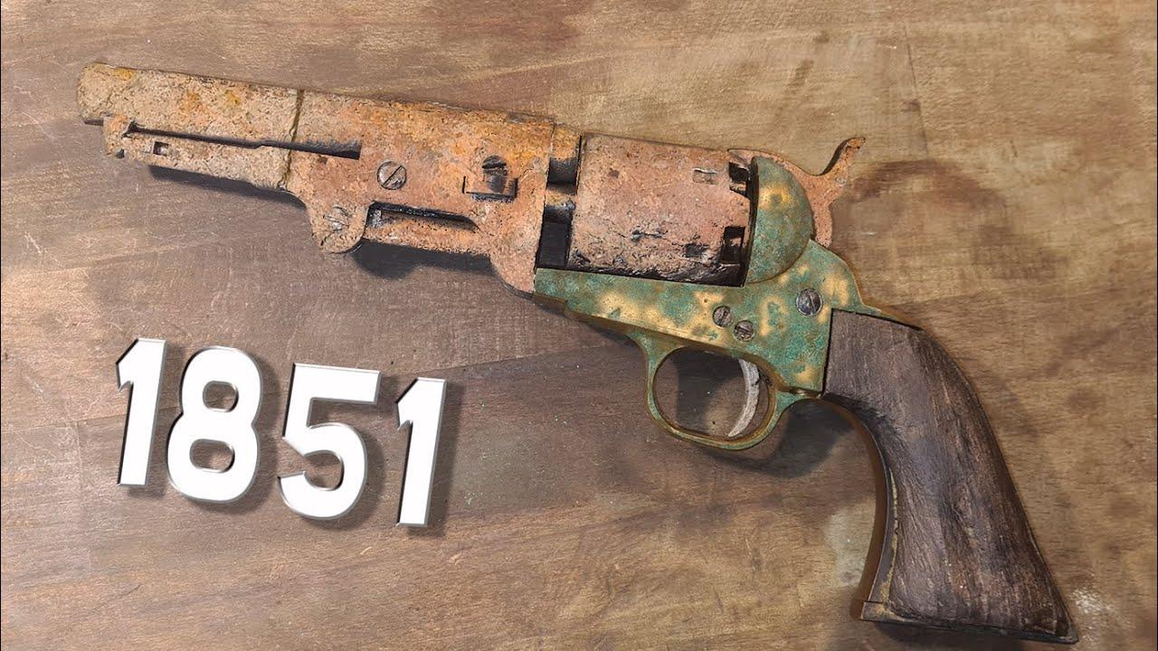 Restauration Colt 1851 Navy