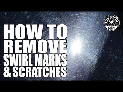 How To Remove Swirl Marks Scratches and Water Spots In One Step - Chemical Guys VSS